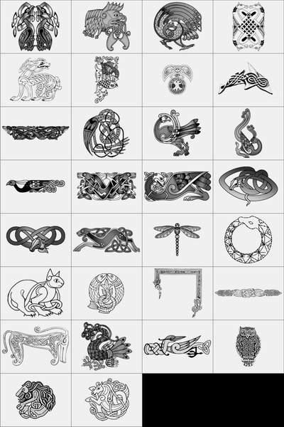 Картинки татуировок кельтский узор